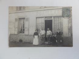 """Carte-photo -ferme De La Gare D'Ermont """"F.Gaillard"""" - Ermont"""