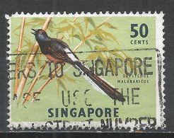 Singapore 1978. Scott #297 (U) Songbird, White-rumped Shama * - Singapour (1959-...)