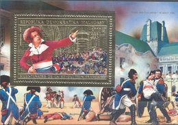 Leco - MADAGASCAR 1989 MNH Neufs  -  Bicentenaire De La Revolution Française - Madagaskar (1960-...)