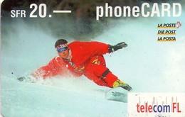 TARJETA TELEFONICA DE LIECHTENSTEIN (1525 PREPAGO TIRADA 105000) (008) - Liechtenstein
