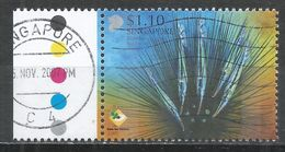 Singapore 2007. Scott #1280d (U) Razorfish, Sea Urchin * - Singapour (1959-...)