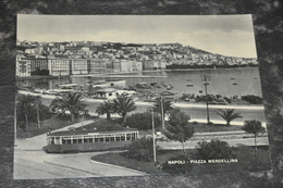 1845   Napoli - Piazza Mergellina    Tram - Napoli (Naples)