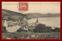 Saint Michel En Grève * Vue Prise Du Nord Est   * édition Efflam L'henoret   (scan Recto Et Verso) - Saint-Michel-en-Grève