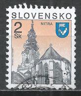 Slovakia 1995. Scott #152 (U) Church, Nitra * - Slovaquie