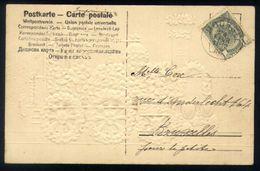 Z08 - Postcard - OBP 53 - Moorsel 1906 - Card With Locomotive / Train - 1893-1900 Fine Barbe
