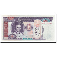 Billet, Mongolie, 100 Tugrik, Undated, 2000, KM:65a, NEUF - Mongolie