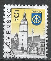 Slovakia 1998. Scott #221 (U) Church, Trnava * - Slovaquie