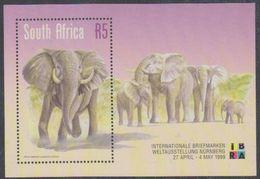 South Africa 1999 Ibra  / Elephant M/s ** Mnh (38171A) - Blokken & Velletjes