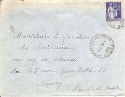 PAIX Sur  ENV  OBLI  COUSANCES AUX FORGES - 1877-1920: Semi Modern Period