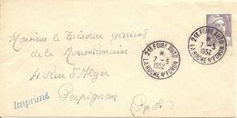 GANDON  Sur ENV  LA ROCHE S/ FORON  21eme FOIRE AUTO - 1921-1960: Modern Period
