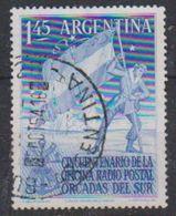 Argentina 1954 Antarctica  Radio Postal Orcadas Del Sur 1v Used (38172A) - Argentinië