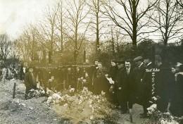 Tombes Allemandes Cimetiere De Pantin Paris Première Guerre Mondiale Photo Identite Judiciaire 1914 - Guerre, Militaire