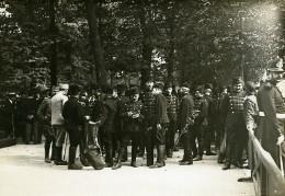 Tuileries Festival Franco Serbe Paris WWI Ancienne Photo Identite Judiciaire 1916 - War, Military