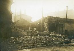 France Paris Raid D'avion Allemand Hopital Broca WWI Ancienne Photo Identite Judiciaire 1918 - War, Military