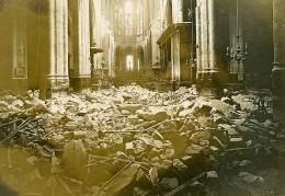 France Paris Bombardement Allemand Eglise Saint Gervais WWI Ancienne Photo Identite Judiciaire 1918 - War, Military