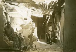 France Paris Bombardement Allemand Rue Manin WWI Ancienne Photo Identite Judiciaire 1918 - War, Military