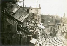 France Paris Bombardement Allemand 119 Rue St Antoine WWI Ancienne Photo Identite Judiciaire 1918 - War, Military