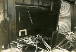 France Paris Bombardement Allemand 95 Quai De L'Horloge WWI Ancienne Photo Identite Judiciaire 1918 - War, Military