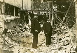 France Paris Bombardement Allemand 108 Boulevard De L'Hopital WWI Ancienne Photo 1918 - War, Military