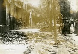 France Paris Raid De Gothas Boulevard Auguste Blanqui WWI Ancienne Photo Identite Judiciaire 1918 - War, Military