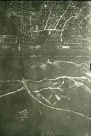 France Paris Auteuil Panorama #9 Première Guerre Mondiale Ancienne Photo Aerienne 1918 - War, Military