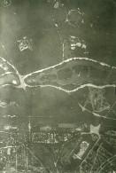 France Paris Auteuil Panorama #10 Première Guerre Mondiale Ancienne Photo Aerienne 1918 - War, Military