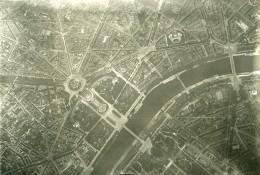 France Paris Auteuil Panorama #1 Première Guerre Mondiale Ancienne Photo Aerienne 1918 - War, Military