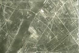 France Paris Auteuil Panorama #5 Première Guerre Mondiale Ancienne Photo Aerienne 1918 - War, Military