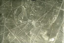 France Paris Auteuil Panorama #6 Première Guerre Mondiale Ancienne Photo Aerienne 1918 - War, Military