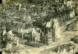 France Arras Bombardement Première Guerre Mondiale Ancienne Photo Aerienne 1918 - War, Military