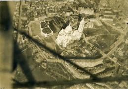 France Paris Montmartre Sacre Coeur Première Guerre Mondiale Ancienne Photo Aerienne 1918 - War, Military