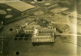 France Château De Chantilly Première Guerre Mondiale Ancienne Photo Aerienne 1917 - War, Military