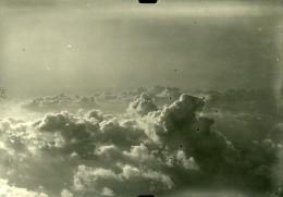 France Nuages Première Guerre Mondiale Ancienne Photo Aerienne 1918 - War, Military