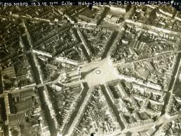 France Lille Parvis Saint Michel Première Guerre Mondiale Ancienne Photo Allemande 1918 - Guerre, Militaire