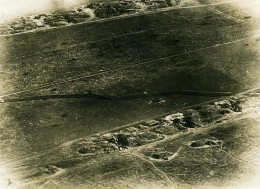 France Batterie De Canons Première Guerre Mondiale Ancienne Photo 1916 - War, Military