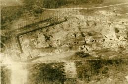 France Village Ruines Première Guerre Mondiale Ancienne Photo Aerienne 1916 - War, Military
