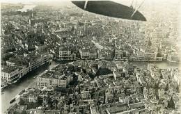 Italie Venise Venezia Canal Première Guerre Mondiale Ancienne Photo Aerienne 1918 - War, Military