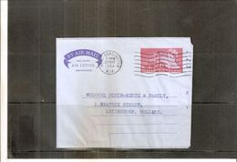 Aérogramme From Kensington To Holland 1963 (to See) - 1952-.... (Elizabeth II)