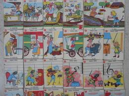 Jeu Des 7 Familles Ancien - COMPLET - Familles Bémol, L'arcenciel, Jelis, Lebois, Lefer,Bonneterre, Letisserand - - Group Games, Parlour Games
