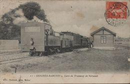 77 SEINE ET MARNE Guignes Rabutin Gare Du Tramway De Melun A Verneuil  2 SCANS - Other Municipalities