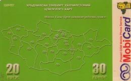 TARJETA TELEFONICA  DE MONGOLIA (PREPAGO).(003) - Mongolia