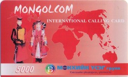 TARJETA TELEFONICA  DE MONGOLIA (PREPAGO).(004) - Mongolia