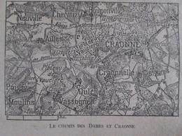 Semaine Militaire 3 Mai 10 Mai 1917  Chemin Des Dames Craonne + Service Radiologie Armée  +  Carte Du Frolnt 9 Mai - Vieux Papiers