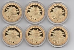 Korea North - Set 6 Coins 20 Won 2014 UNC Lemberg-Zp - Korea, North