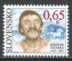 Slovakia 2013. Scott #658 (MNH) Dominik Tatarka (1913-89), Writer * - Slovaquie