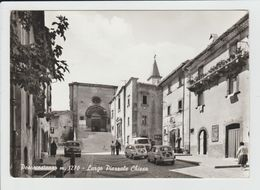 PESCOCOSTANZO - ITALIE - LARGO PIERRALE CHIESA - Italy