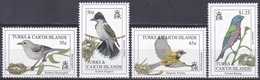 Turks Und Caicos 1993 Tiere Fauna Animals Vögel Birds Oiseaux Pajaro Uccelli, Aus Mi. 1136-3 ** - Turks & Caicos