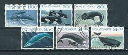1988 New Zealand Complete Set Whale,animals,dieren Used/gebruikt/oblitere - Nieuw-Zeeland