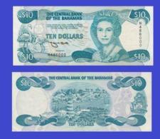 Bahamas  10 Dollars 1974  -- Copy - Copy- Replica - REPRODUCTIONS - Bahamas