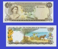 Bahamas  20 Dollars 1974  -- Copy - Copy- Replica - REPRODUCTIONS - Bahamas
